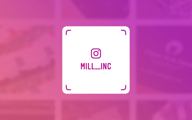 MILL公式 Instagram